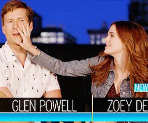 gif, zoey deutch, and set it up image
