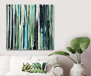 Abstract Painting, original art, and wall decor image