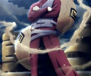 anime, kazekage, and gaara image