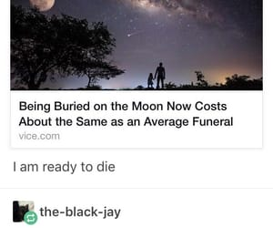death, funny, and tumblr image