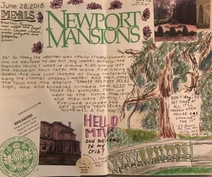 art, art journal, and journal image