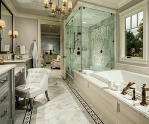 architecture, bathroom, and elegant image