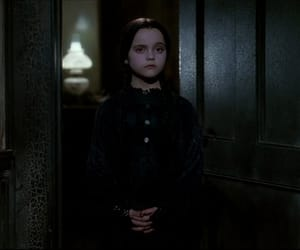90s, wednesday addams, and christina ricci image