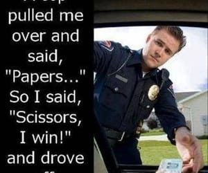 cop, policeman, and Paper image
