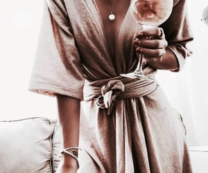 fashion, outfit, and rosegold image