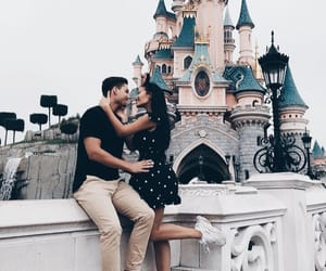 couple, love, and disney image