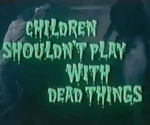dead, children, and horror image
