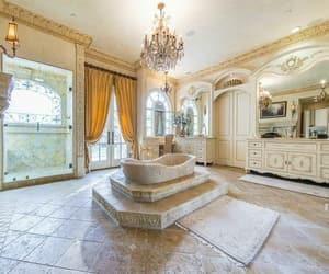 bathroom, beauty, and elegant image