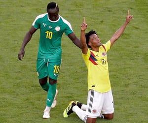 football, futbol, and senegal image
