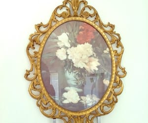 art, floral, and flowers image