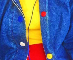 yellow, blue, and red image