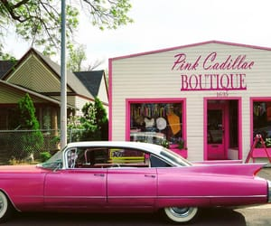 cars, pink, and places image