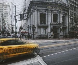 amarillo, movimiento, and banco image