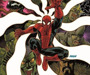 comic books, spider-man, and variant cover image