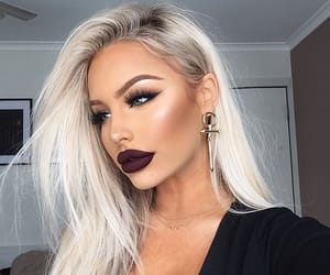 beauty, elegance, and makeup image