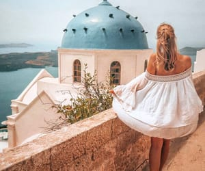 girl, goals, and Greece image