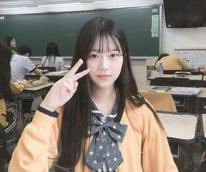aesthetic, korean, and korean girl image