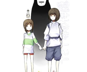 spirited away, no face, and cute image