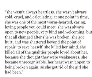 quotes, broken, and girl image
