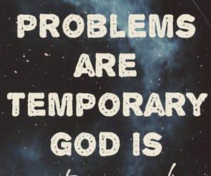 god, problem, and eternal image