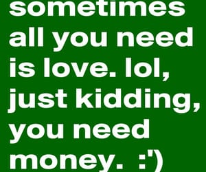 funny, money, and quotes image