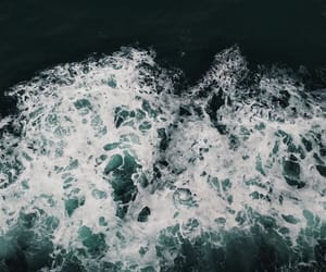 boat, waves, and froth image