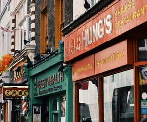 chinatown, london, and street image