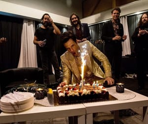 brandon flowers, ronnie vanucci, and the killers image