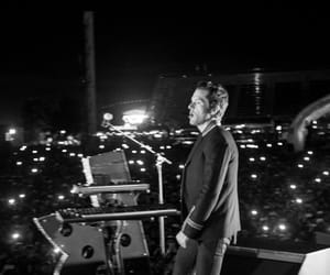 brandon flowers, the killers, and YSL image