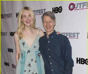 John Cameron Mitchell and Elle Fanning image