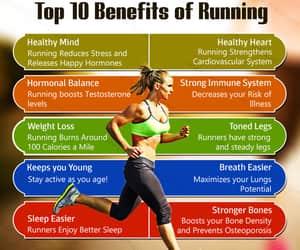 health, running, and benefits image