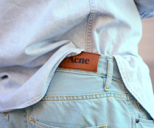 acne, fashion, and jeans image
