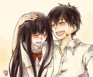 kimi ni todoke, anime, and couple image