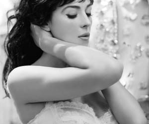 girl, monica bellucci, and wow image