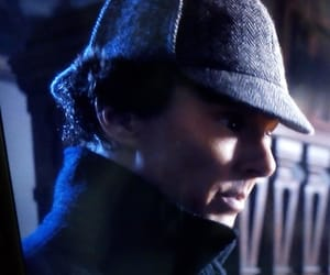 bbc, mistery, and sherlock holmes image