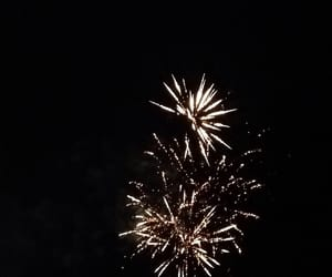 boom, fireworks, and notte image