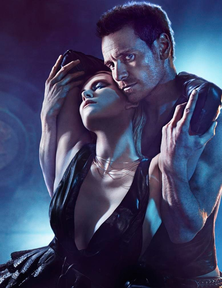 Charlize Theron, Hot, and michael fassbender image