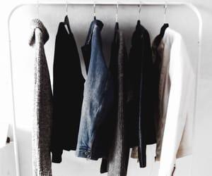 closet, clothes, and decor image
