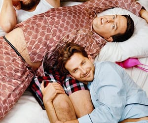 Zach Galifianakis, the hangover, and ed helms image