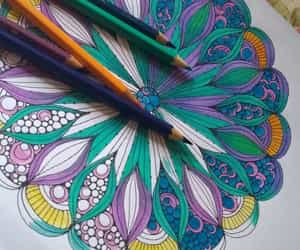art, sonhos, and faber castell image