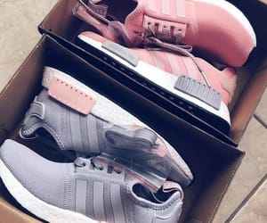 fashion, pink, and adidas image