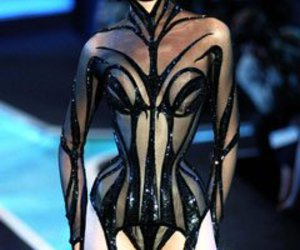 corset, haute couture, and thierry mugler image