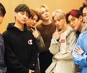 got7, bambam, and jinyoung image