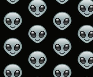 alien, black, and wallpaper image