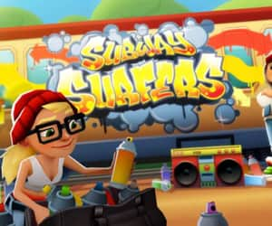 feature, subway surfers, and mobile gaming image