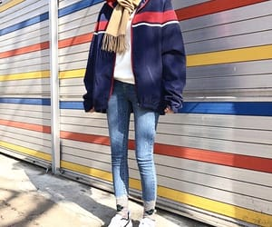 asian fashion, casual, and fashion image