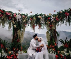 beautiful, couple, and decorations image