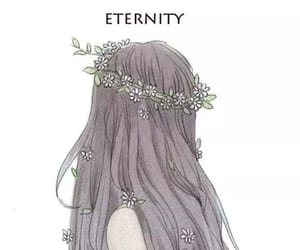 girl, eternity, and anime image
