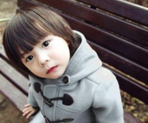 beauty, kid, and KOREANS image