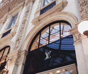 aesthetic, building, and Louis Vuitton image